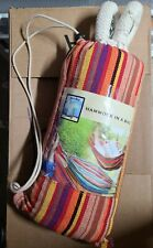 New listing Bliss Paradise Oversized Hammock in a Bag Brazilian Striped up to 250 lbs new