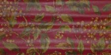 Raymond Waites Deep Red with Berry Wallpaper - 31521010