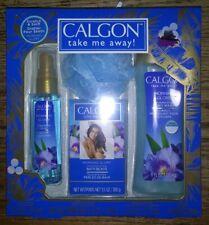 Calgon Take Me Away Morning Glory Box Set Body Wash Fragrance Mist Condition New