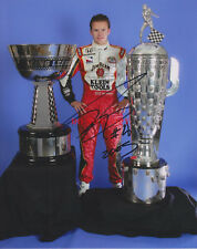 2005 & 2011 Indianapolis 500 winner DAN WHELDON Signed 8 X 10 Indy Race Photo re