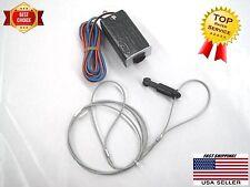 Trailer breakaway switch, bracket & cable. Lanyard & Nylon pin w o-ring 4'