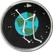 Stargate Atlantis Project Logo Planet Embroidered Iron on Patch