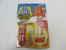 1983 Go Bots Mighty Robots Mighty Vehicles Pumper 10 833527