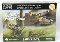 Plastic Soldier PSCAB15001 Late War German Panzer Army (Army Box) 15mm WWII NIB