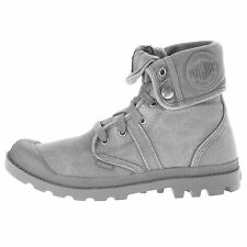 Palladium Pallabrouse Baggy Titanium Womens High Top Trainers