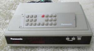 Panasonic CATV Converter TZ-PC170DGB1 With Remote Control # 1410 uu