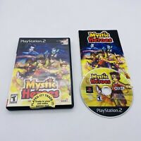 Mystic Heroes (Sony Playstation 2 Game PS2 2002) Great Disc Black Label Complete