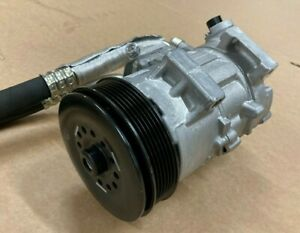 Genuine Lotus Elise S2 2011>A/C Compressor and Pulley Assy with Hoses A120E7222S
