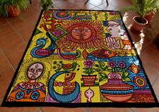 Tagesdecke Wandbehang Pop Art Indian Deko 2,30 m x 2,10 m
