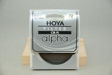 Hoya 72mm Alpha Circular Polarizer filter