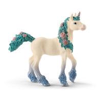 SCHLEICH Bayala Blossom Unicorn Foal Toy Figure (70591)
