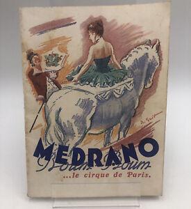 Cirque Medrano. Guit Roger.- Medrano. le cirque de Paris.- Programme 1953