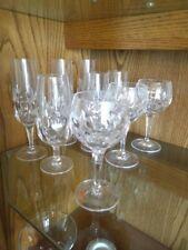 Nachtmann Bleikristallgläser je 6 Wein, Likör, Bier, Sekt