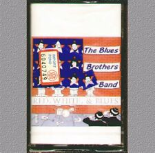 "THE BLUES BROTHERS BAND "" RED, WHITE, & BLUES "" MUSICASSETTA SIGILLATA  RARO"