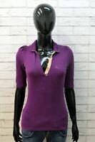 Burberry Brit Polo da Donna Taglia XS Maglia Manica Corta Cotone Shirt Woman