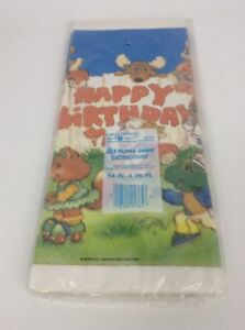 The Get Along Gang Happy Birthday Tablecover 1984 American Greetings Vintage New