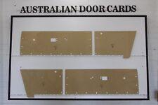 Chrysler Valiant VE, VF, VG Door Cards. Hardtop Coupe, Regal. Blank Trim Panels