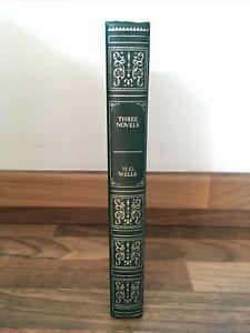 Three Novels - H.G. Wells - Hardback - 1981 -Time Machine, War of Worlds,Island