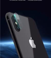 2 X Posteriore Fotocamera Lente Vetro Temperato per Apple iPhone X