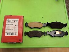 Apec Front Brake Pads for FORD FIESTA MK3 89 - 95