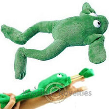 Flying Frog Slingshot Fly Sound Effect Launch Launching Toss Fun Toy Green Shot