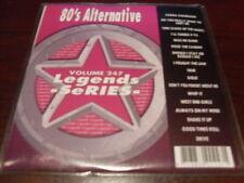 LEGENDS KARAOKE CD+G VOL 247 80s ALTERNATIVE CULTURE CLUB THE CARS PET SHOP BOYS