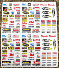 RC Nascar GT Stickers Decals Tamiya HPI Associated Losi