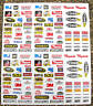 RC Nascar 10th 1:10 scale contingency stickers decals Tamiya HPI Associated Losi
