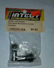 TEAM INTEGY 3MM METAL BALL END FOR CRAWLER LINKAGES 4WD RC C22727GUN