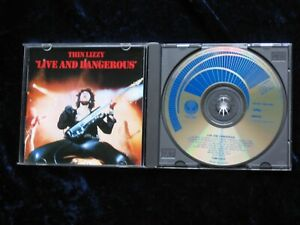 Thin Lizzy JAPAN CD Live And Dangerous 1978 28PD-547  EX/EX  NO OBI