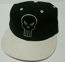 New Era Marvel Comics Punisher hat-Black/White-Original Tag- Free Ship in Box!