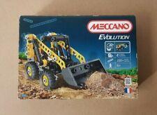 New - Meccano Evolution 3200 Excavator Front Loader Construction Vehicle 2 Model