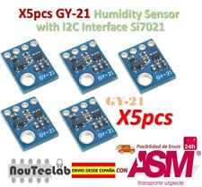 5pcs GY-21 Humidity Sensor with I2C Interface Si7021 HTU21 SHT21