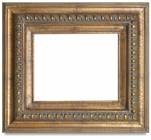 Antique Barrister Plain Air Wood Frame, Size 16x20 inches