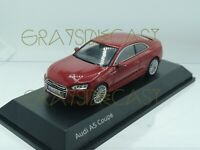 Audi A5 Coupe  Glacier Red 1:43 SPARK (DEALER MODEL) new