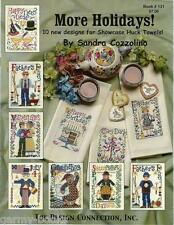 More Holidays Sandra Cossolino Design Connection #131 Cross Stitch Patterns NEW