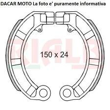 Brake Shoes Rear Piaggio 125 Vespa Pxe Rainbow 1983 RMS 225120160