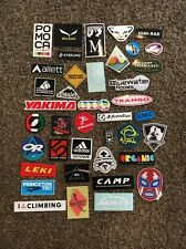 40 Climbing Stickers! Trango Evolv Ibex Red Chili Blue Water Ropes Petzl Asana