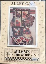"""Mumm's The Word """"Alley Cats"""" Applique Quilt PATTERN ONLY"""