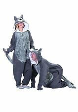 RG Costumes 40021 Willie The Wolf (Gray White;One Size)