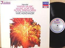LONDON ffrr DIGITAL JUBILEE Handel MUNCHINGER Water Music/Fireworks 417 273