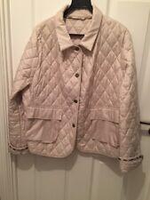 Women's AQUASCUTUM VINTAGE CAPPOTTO TRAPUNTATO GIACCA taglia XL originale indossato solo una volta