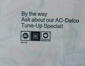 Vintage GM AC DELCO trash litter bag