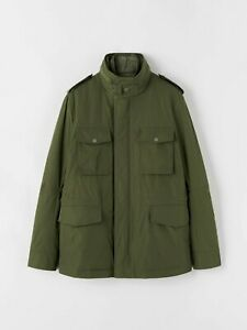 Tiger of Sweden Ossien Jacket Military Green RRP£549