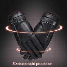 Dames gants en cuir femmes réel doux doublé polaire hiver conduite décontract SH