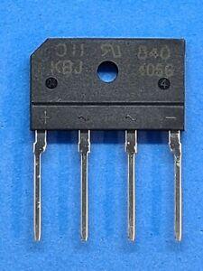 KBJ406G (Bridge Rectifier 600V/4A) - Diodes Inc Amount Nach Request