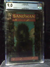 Sandman 8  CGC  9.0  VF/NM   White Pages NEW CASE 1st appearance of Death.