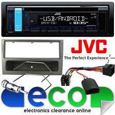 Vauxhall Meriva un JVC RADIO CD USB STEREO AUTO & STERZO Gunmetal Kit di montaggio
