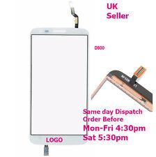LG Optimus G2 D800 D801 D803 Digitizer Touch Screen Glass Panel White + tools