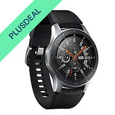 Samsung Galaxy Watch R800 Smartwatch 46mm silber Fitnesstracker Armbanduhr WOW!